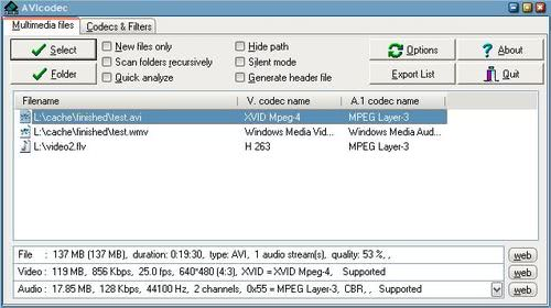 Check for and add missing Video Codecs