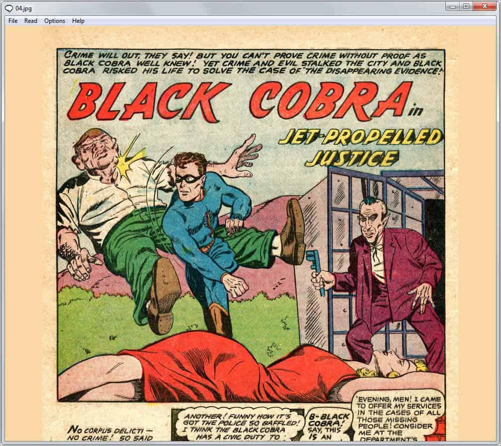 View Comic Books with CDisplay - gHacks Tech News