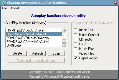 repair autoplay handlers