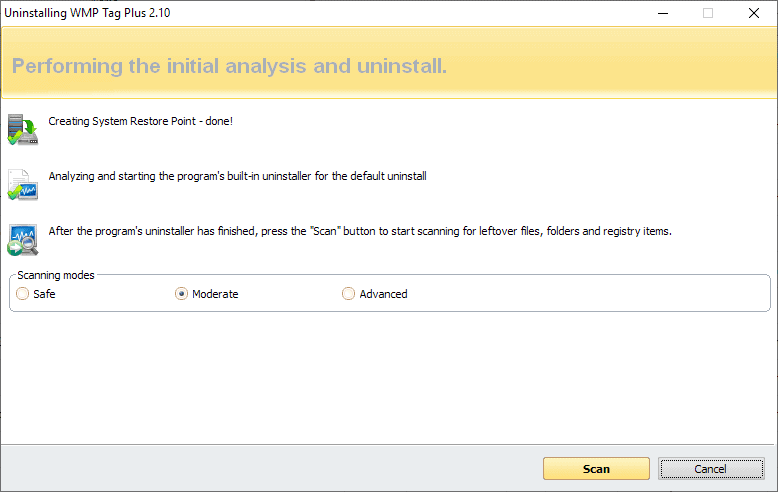 revo-uninstaller uninstall process