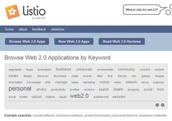 The best sources for web 2.0