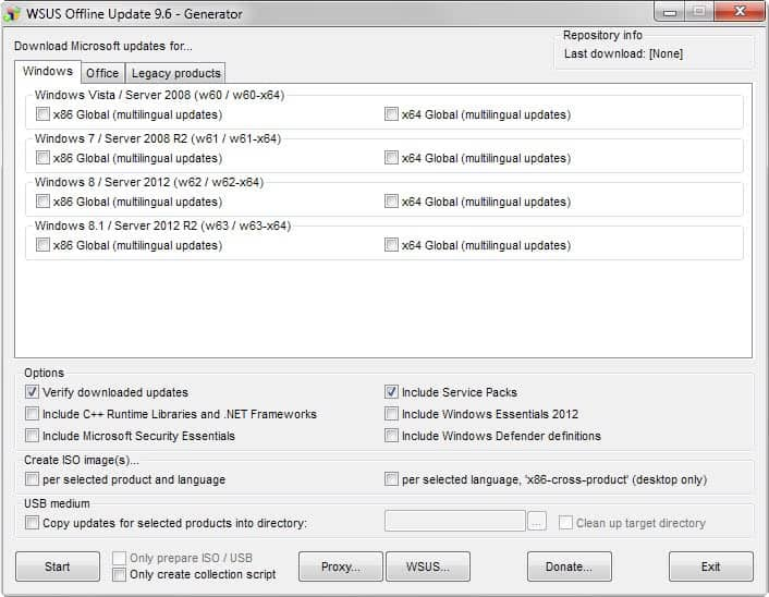 Update Windows with Offline Update - gHacks Tech News