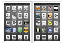 aibook iphone theme