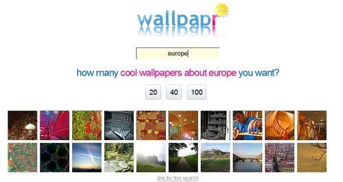 flick wallpaper search