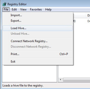 Windows Tip: Edit User Registry of other users