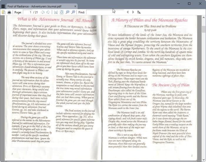 sumatra pdf reader