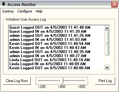 windows access monitor