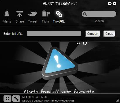 alert thingy