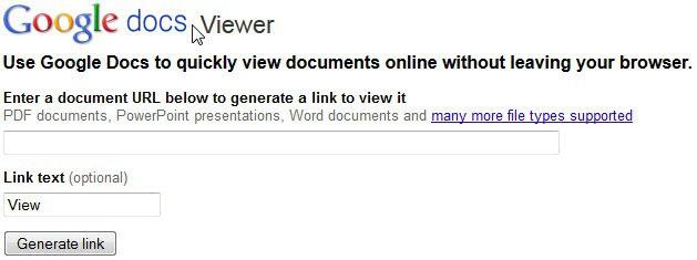 google docs pdf viewer