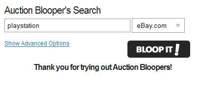 auction blooper