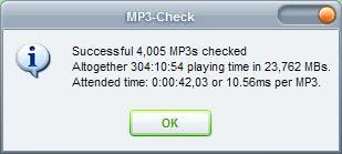 mp3 check