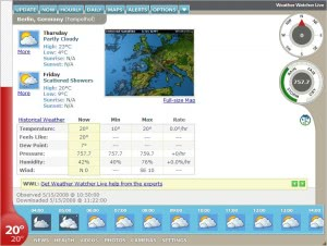 weather watcher live
