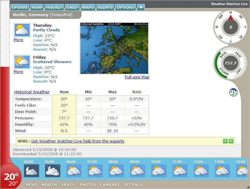 Weather Watcher Live - gHacks Tech News
