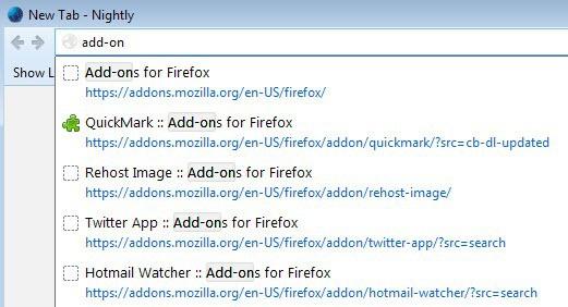 firefox location bar typos