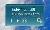 Indexer Status Gadget