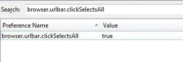 browser urlbar clickselectsall