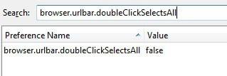 browser urlbar doubleclickselectsall