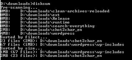 disksum