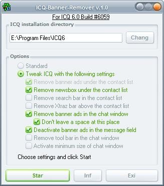 icq banner remover
