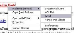 firefox webmail