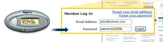 paypal security key