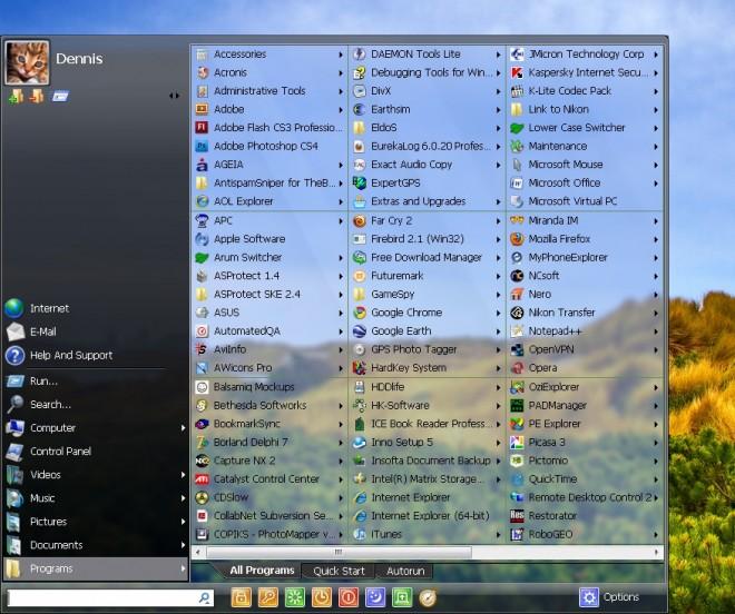 The Windows Start Menu - gHacks Tech News