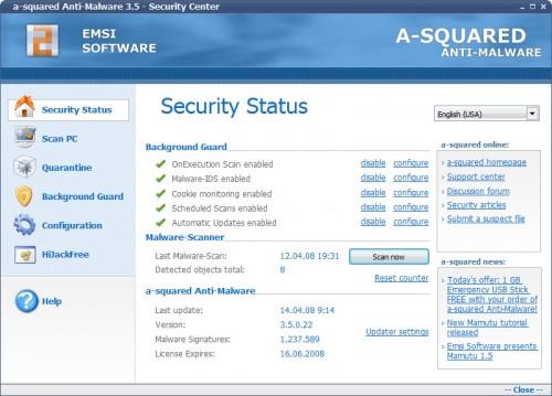 asquared anti-malware