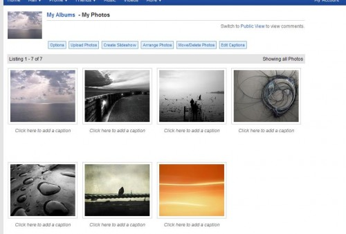 myspace my albums