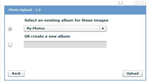 upload photos to myspace