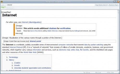 wikipedia articles