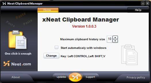 Windows Clipboard Manager xNeat