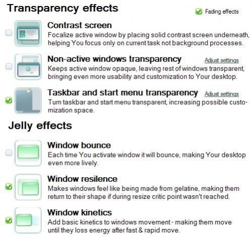 transparent windows