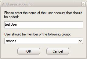 add user account