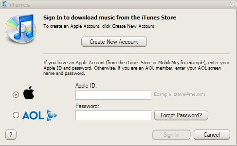 how to sign into itunes on iphone itunes login 20331