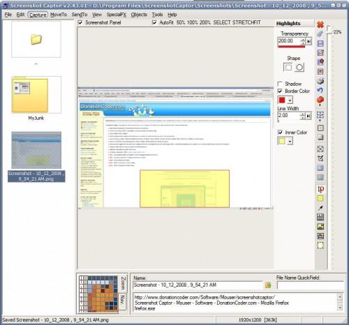 screenshot capture software
