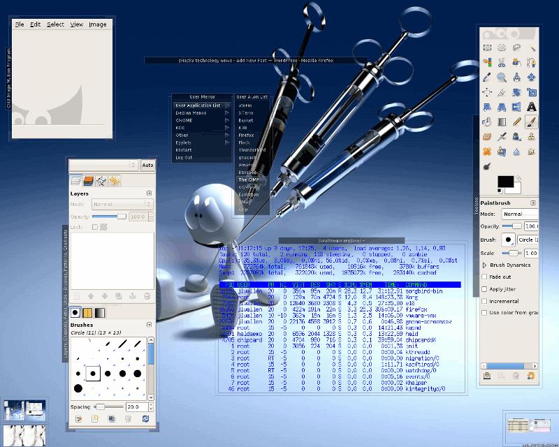 Enlightenment Screenshot