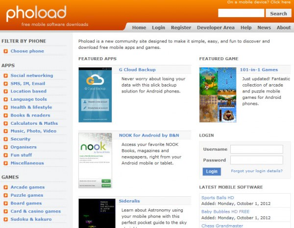 Download Free Apps for Your Phone at Phoload - gHacks Tech News