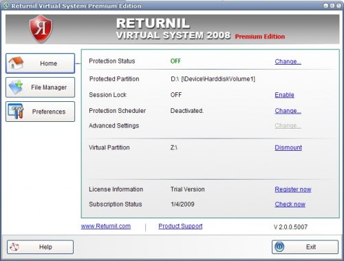 returnil premium