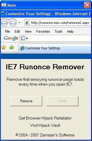 runonce remover