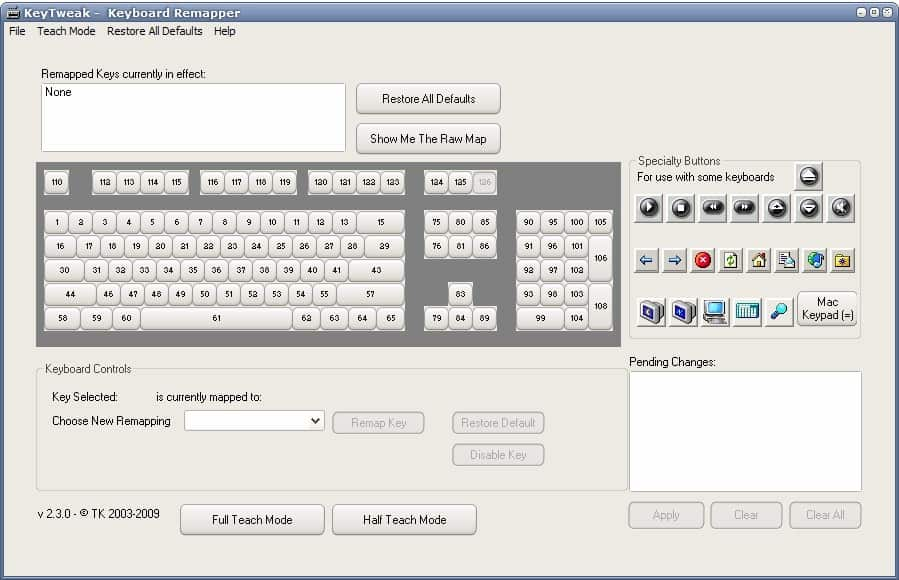 keyboard remapper