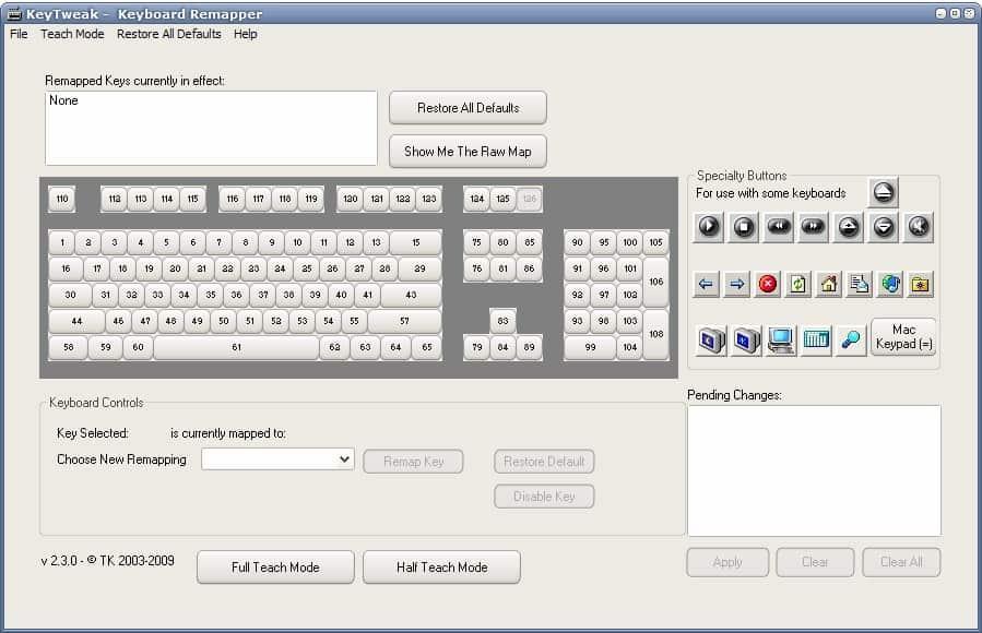 keyboard remapper