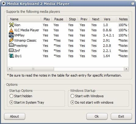 media keyboard