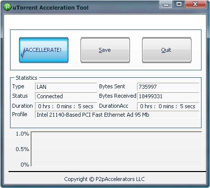 utorrent download accelerator
