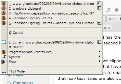 windows clipboard software
