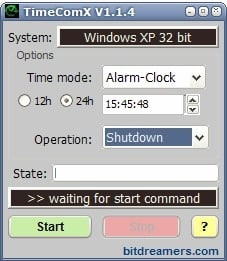 windows timer
