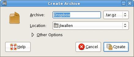 Configure your archive