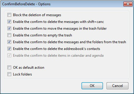confirm before delete