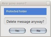 delete message confirmation