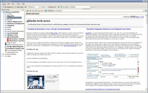 desktop rss reader