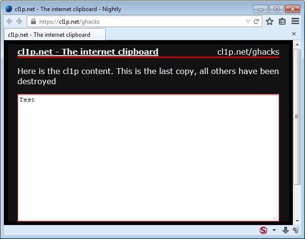 internet clipboard